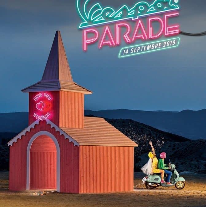 Vespa parade